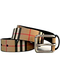 a basso costo bad30 3d1d9 Amazon.it: cintura uomo burberry - Cinture / Accessori ...