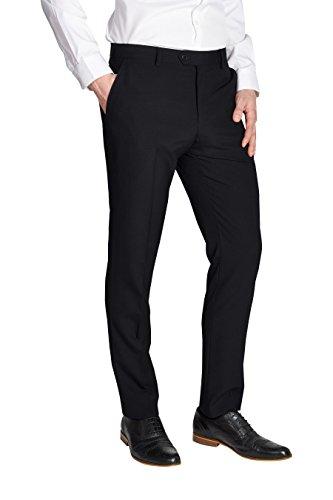 next Homme Costume en laine mélangée:pantalon Noir