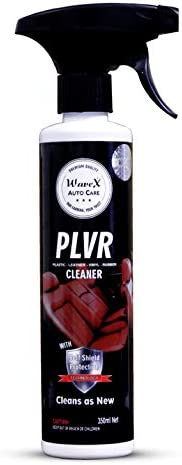 Wavex® PLVR Plastic Leather Vinyl Rubber Cleaner (350ml) Antimicrobial Car Interior Dashboard Cleaner Sanitize