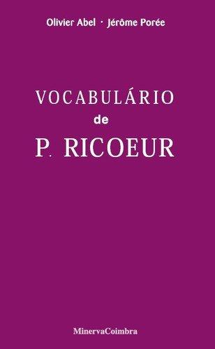 Vocabulário de P. Ricoeur