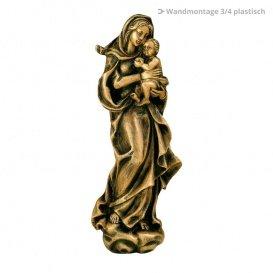Serafinum Bronzeskulptur Heilige Maria kaufen - Maria Amali / Braun