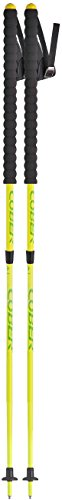 cober dos, bastones ajustable de Trail Unisex–Adultos, Amarillo neón, de 90a 125