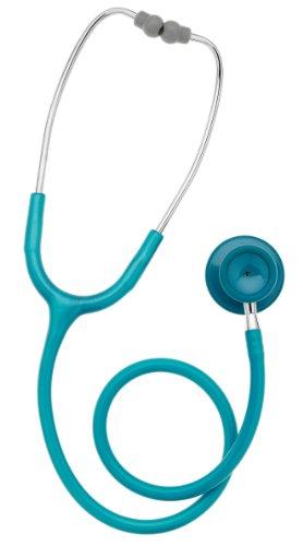 Spengler Dual Pulse - Estetoscopio campana doble, color verde