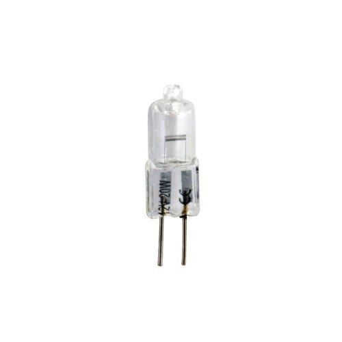 Bulk Hardware BH00587 10 W 12 V GU4 Mini Dichroitische Halogenlampe Doppelpackung (Packung à 5) Weiß 5 Stück