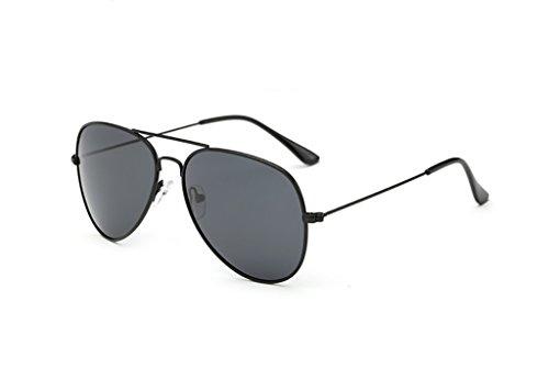 Ppy778 Aviator Sonnenbrille für den Mann mit UV400-Schutzrahmen aus Metall (Color : 2)