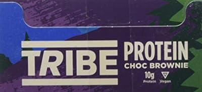Tribe Natural Protein Bar, Bogoya Banana, 58g (Pack of 16) from BULK POWDERS