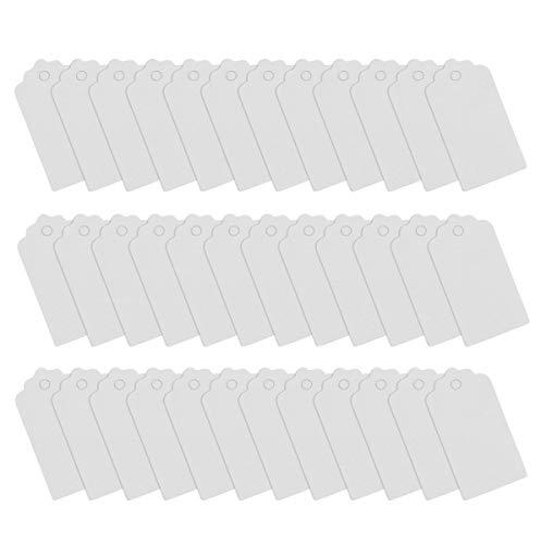 Vosarea 100 pcs kraft paper haning cards blank tag bomboniere regalo etichette prezzo etichette fai-da-te