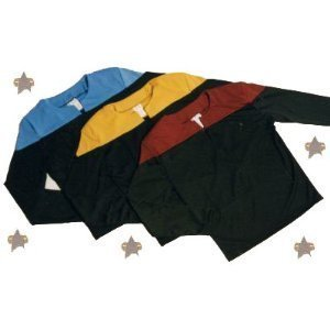 - Uniform Shirt - Blau - XL (Star Trek Enterprise Uniform)