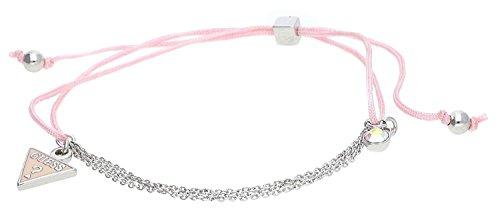 guess-damen-armband-textil-rosa-silber-ubb11329