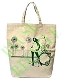 Imagin Canvas Woven Printed Carry Bag (Multi Color)