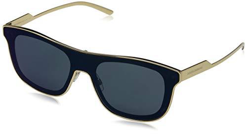 Dolce & Gabbana Herren 0DG2174 02/96 42 Sonnenbrille, Gold/Darkgrey