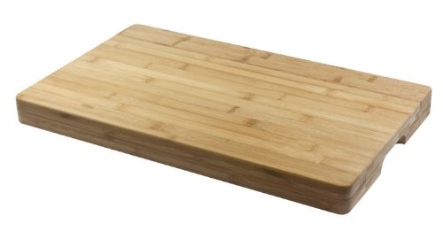 Strong Construction Oblong Bamboo Chopping Board Serving Platter 50cm x 30cm by Stow