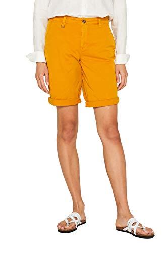 ESPRIT Damen 039EE1C001 Shorts, Gelb (Amber Yellow 700), W(Herstellergröße: 44)