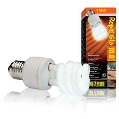 Reptiglo 10.0 UVB Compact 26W Desert Lamp Light Reptile