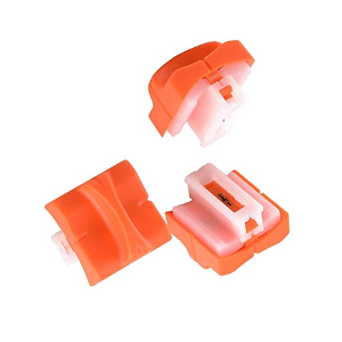 OFNMY 3 Stück Papierschneidemaschine Ersatzmesser Papierschneider Ersatzklingen 2x2.5x1.2cm