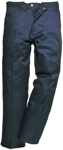 Portwest Preston - Pantaloni da lavoro 34 a gamba normale Blu Navy