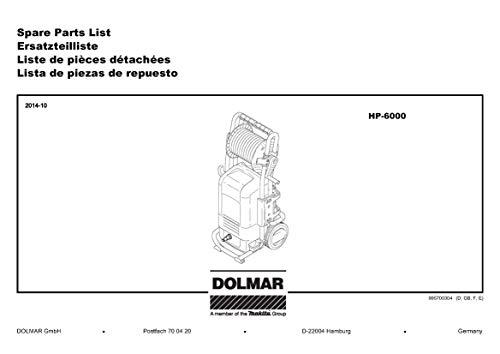 Dolmar 609360230-7655 Schlauchtrommel, Original Ersatzteil HP-6000