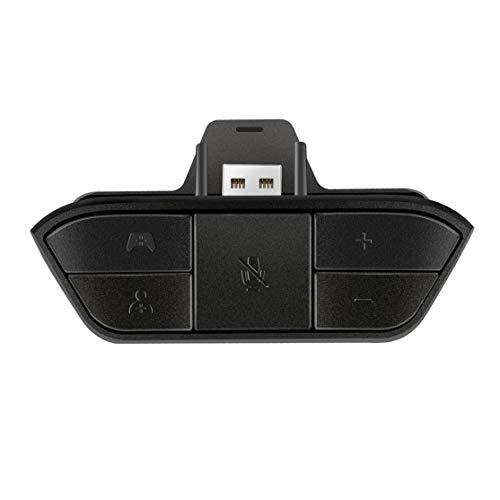 Schwarz Stereo Headset Adapter Headset Audio Adapter kopfhörer konverter für Microsoft Xbox one Wireless Game Controller Microsoft Volume Control