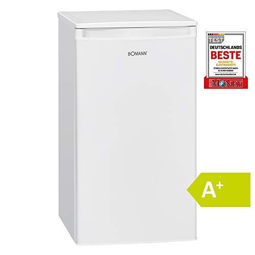 Bomann KS 7230 Réfrigérateur avec compartiment à glace Classe d'efficacité énergétique A+ / réfrigérateur 83 L/compartiment à glace 8 L / 111 kWh/blanc