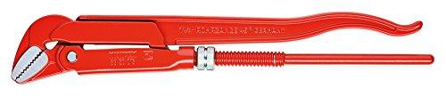 KNIPEX 83 20 020 Rohrzange 45° rot pulverbeschichtet 570 mm
