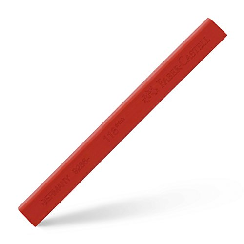 118 Single (Faber-Castell Polychromos Single Stick Künstler Pastel, Scarlet Rot 118)