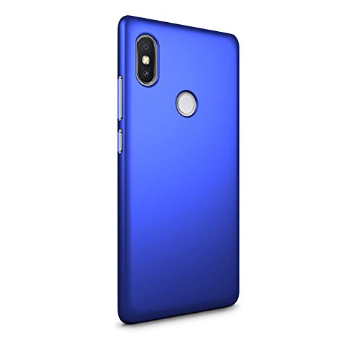 42117cdca1d Roxel Redmi Y2 Rubberized Hard Back Case Cover  with SF Coating for Soft    Smooth ...