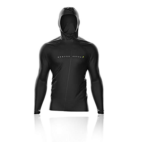 Compressport Thunderstorm 10/10 Giacca - Black Edition - SS19 - M