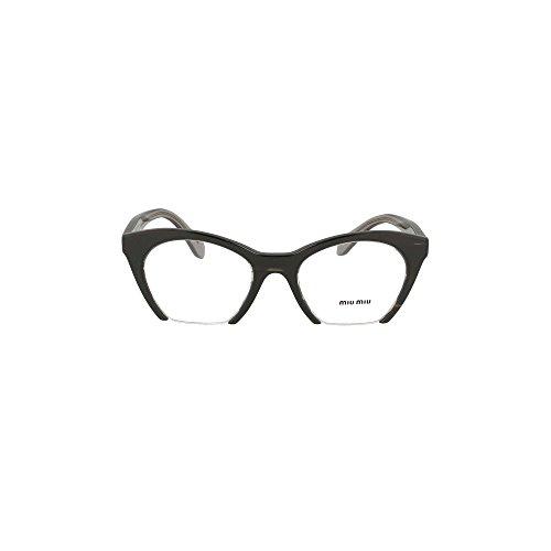Brillen Miu Miu RASOIR EVOLUTION VMU03Q BLACK Damenbrillen