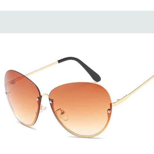 Monllack A07-2-66125Simple Style Sonnenbrillen Solid Frame Personality Frame Sonnenbrillen Metall Sonnenbrillen reflektierende Sonnenbrillen
