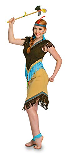 Frauen Sexy Indian Perücke - Folat 63316 Indianerin Damen Indianer sexy