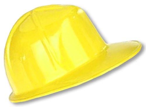 Schutzhelm gelb für (Kostüm Frauen Bauarbeiter)