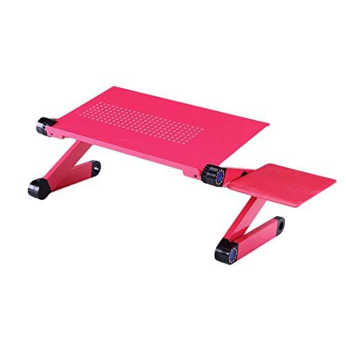 Formulaone 360 ° Rotation Aluminiumlegierung Computer Schreibtisch Faltbare Einstellbare Kühltisch Ständer Tablett Mit Maus Platte Für Laptop Notebook