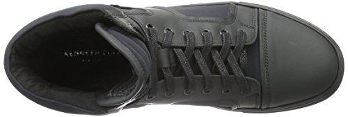 Kenneth Cole Double Feature, Sneakers Hautes Homme Noir (Black 001)