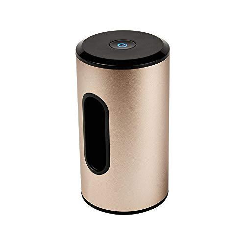 CONRAL Multifunktions Mini Luftreiniger, aufladbarer USB Luftreiniger mit 1400mAh, Geruchsbeseitigung, Präfekt für Auto, Kühlschrank, Kleiderschrank, Schuhschrank, Schrank, Bücherregal