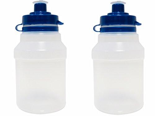 Kinder Getränke Wasser Flaschen x 2–300ml–BPA-frei
