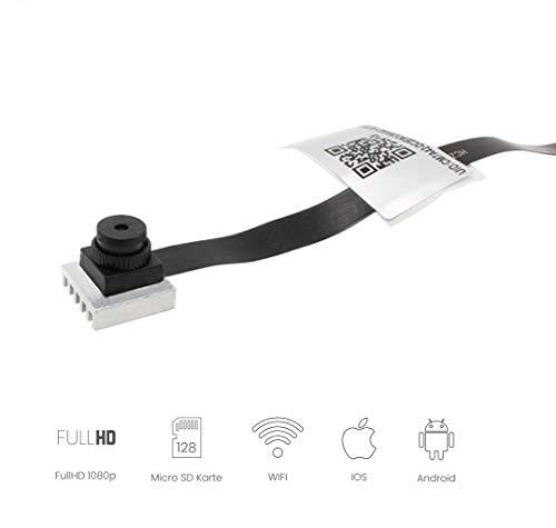Mini Kamera Modul 1080P HD drahtlos mit App Bewegungsmelder tragbare WLAN Netzwerk Kamera mit Videoaufzeichnung Akku Überwachungskamera