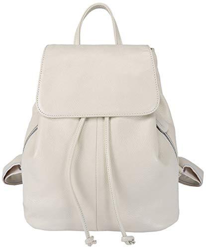 BOYATU Leder Rucksack für Frauen Tagesrucksack Mini Kleine Schulter Reisetasche