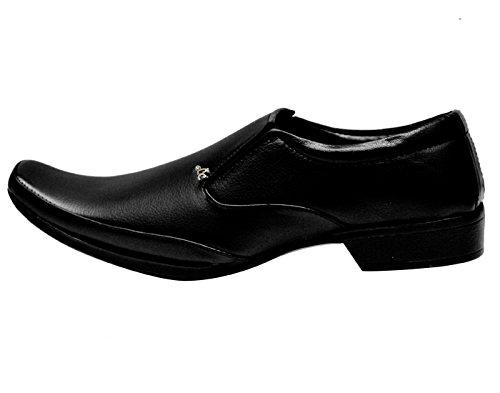 Kraasa-Black-Shoes-for-Men-Material-Patent-Leather-K-1018-Black