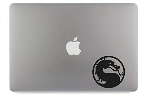 "Preisvergleich Produktbild Mortal Kombat Apple MacBook Air Pro Aufkleber Skin Decal Sticker Vinyl (17"")"