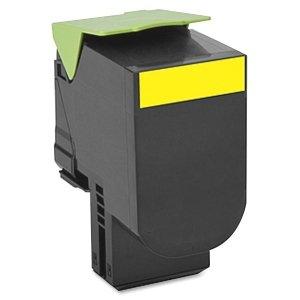 Preisvergleich Produktbild LEXMARK 700H4 Toner gelb hohe Kapazität 3.000 Seiten 1er-Pack