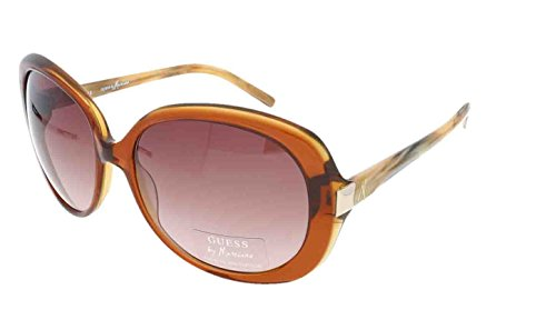 GUESS by MARCIANO Exklusiv Damen Sonnenbrille & GRATIS Fall GM 620 CYBRN-34