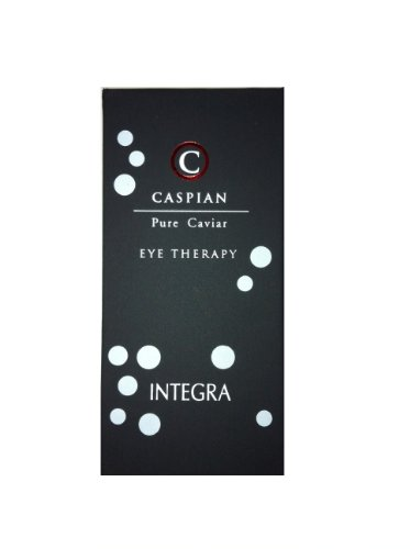 CASPIAN Pure Caviar Eye Therapy - Eye Contour Anti Wrinkle Cream - Collagen Eye Treatment with Highest Caviar Extract (15 ml)