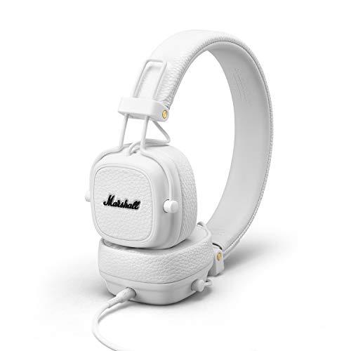 Marshall Major III On-Ear Headphones (White) Image 5
