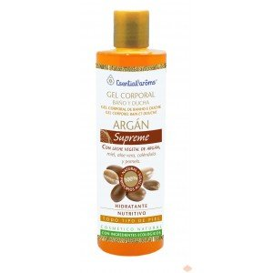 Authentic Organic Moroccan Argan Skin Nourishing Shower Gel - 100% Natural & Organic - The Healthiest Choice! (500 ml)