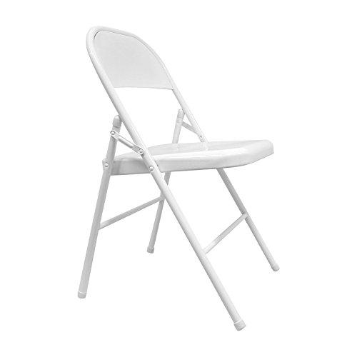 Silla de hostelería plegable blanca Sein para eventos y catering