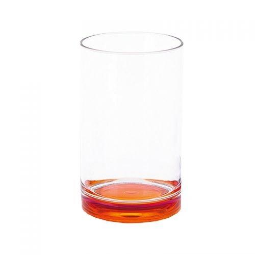 Gimex Trinkglas GreyLine 250 ml orange