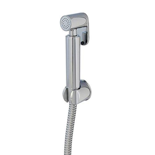 Burgtal 17736 AS-08 Fia Arabic Shower Bidet Handbrause inkl. Wandhalterung und Schlauch Chrom