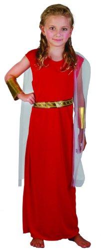 Costume da antica romana per bambina 10/12 anni (140/152)