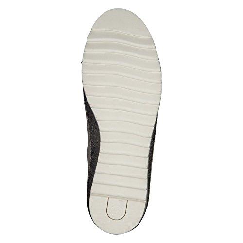 Donne Sneaker Jana 8-23706-355 sabbia larghezza intercambiabile H Beige