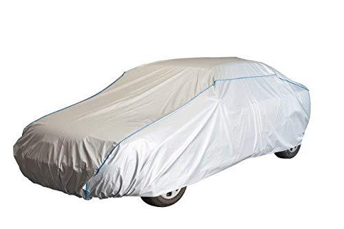 Kley & Partner Autoabdeckung kompatibel mit FIAT 500 ab 2007 Auto Plane Abdeckung UV-beständig atmungsaktiv wasserfest Vollgarage Ganzgarage